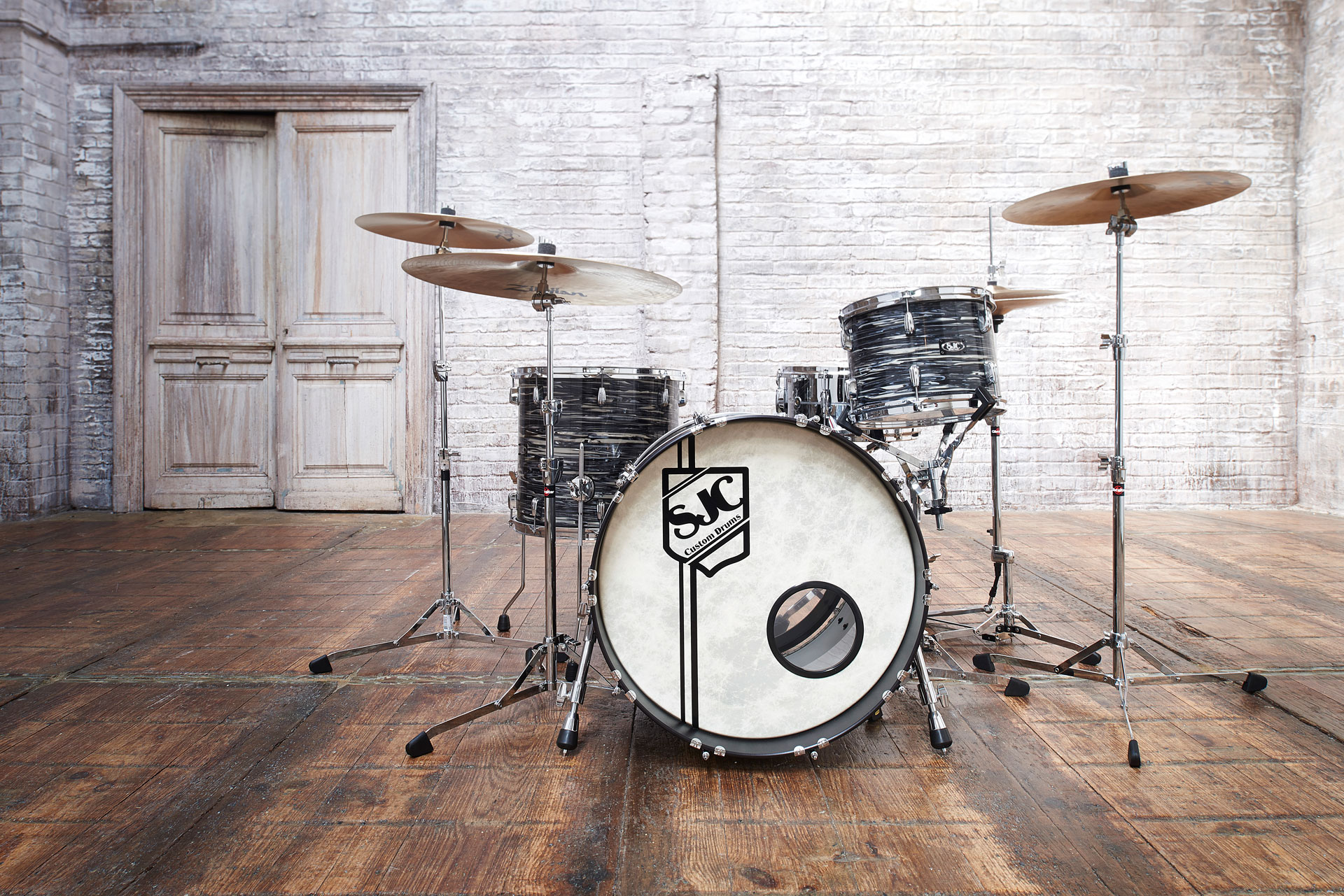Drums musical instrument studio product photography by UK photographer Del Manning